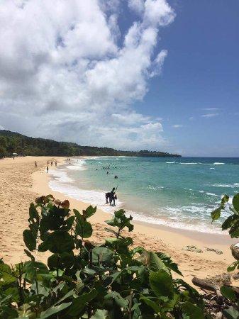 Cabarete, Dominicaanse Republiek: Playa grande