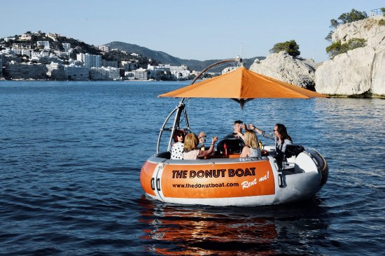 The Donut Boat Santa Ponsa Spain Address Phone Number TripAdvisor