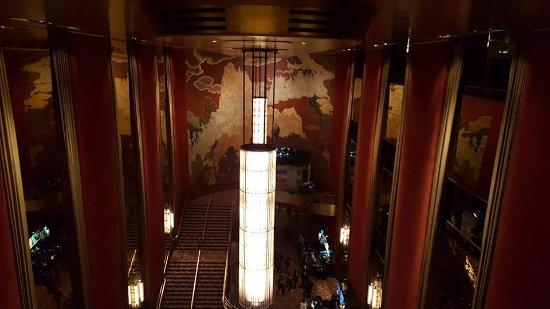 Radio City Music Hall Stage Door Tour : De art deco stijl is duidelijk te zien