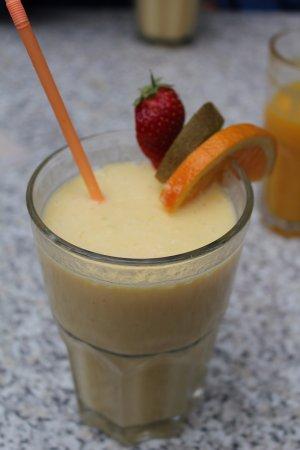 Stads-koffyhuis: Fruit smoothie