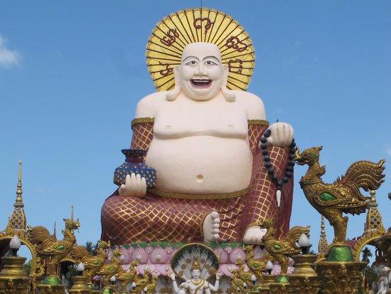 Wat Plai Laem: 還有其他的大型佛像