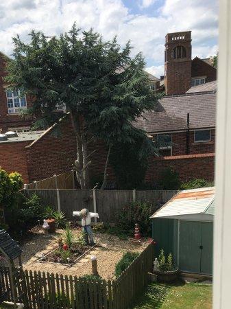 The White Lodge: The lovely garden