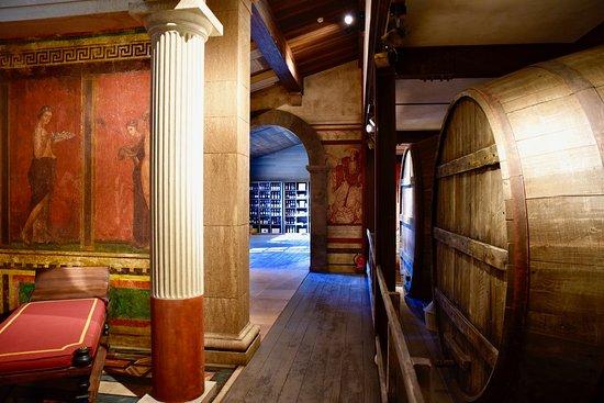 Castagneto Carducci, Italy: Sala  romana