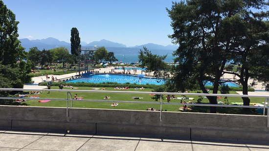 Photo de piscine de bellerive lausanne for Bellerive lausanne piscine