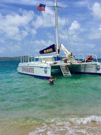 Christiansted, St. Croix: Ready for beach BBQ