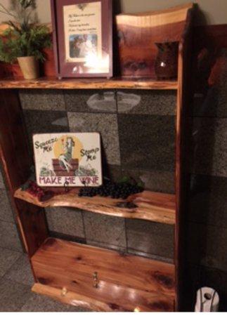 Ursa, IL: Homemade shelf