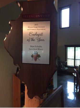 Ursa, IL: Award