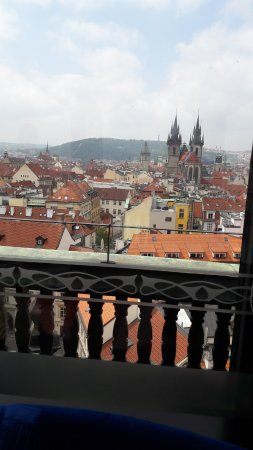 Hotel Paris Prague: View from the top suite