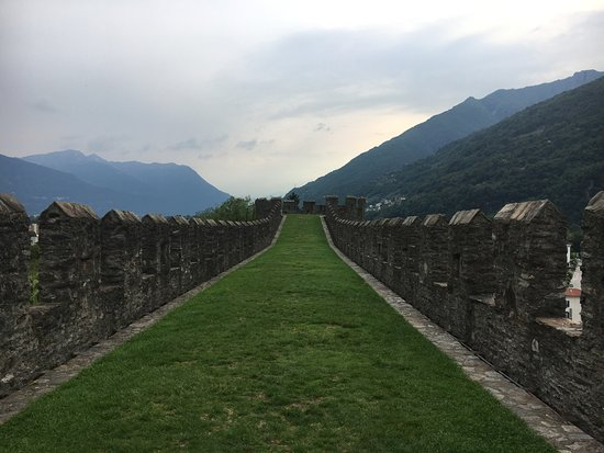 Photo of Castle Castelgrande at Bellinzona, Switzerland