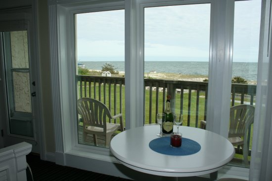 Surf and Sand Beach Motel: top floor view