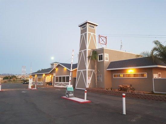 Blythe, كاليفورنيا: Haupteingang und Office