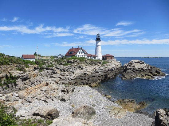 Portland Head Light: Head Light at Fort Williams Park