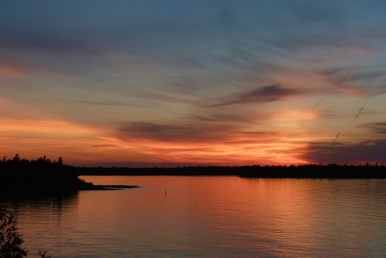 Bruce Anchor Motel and Cottage Rentals: Sunset at the Gap