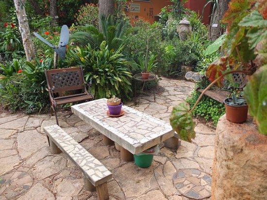 Danny the Digger : Whimsical kibbutz garden