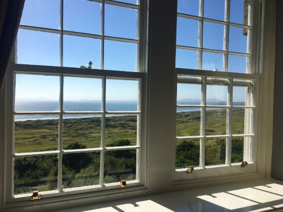 Harlech, UK: Stunning rooms with indescribable views