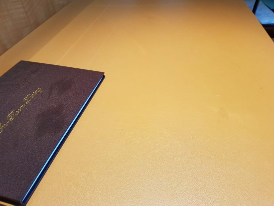 desk cover with oil picture of pudong shangri la east shanghai