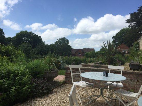 Tisbury, UK: Kitchen garden