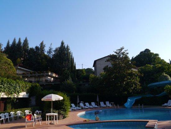 San Martino al Cimino, Italien: Zona piscine