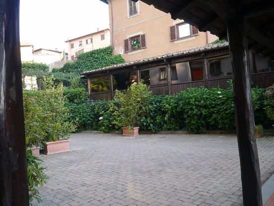 San Martino al Cimino, Italien: terrazza