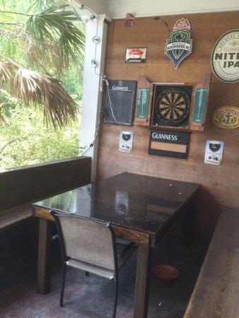 The Cock N' Bull Pub: Verandah