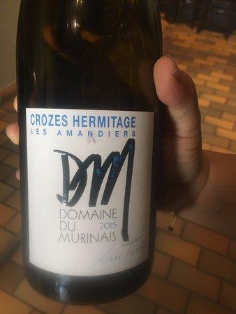 Tournon-sur-Rhone, ฝรั่งเศส: Excellent choix de vins