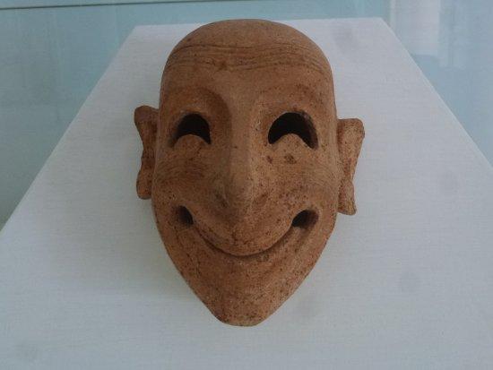 Isola di Mozia (Mothia)/ San Pantaleo: Terracotta mask