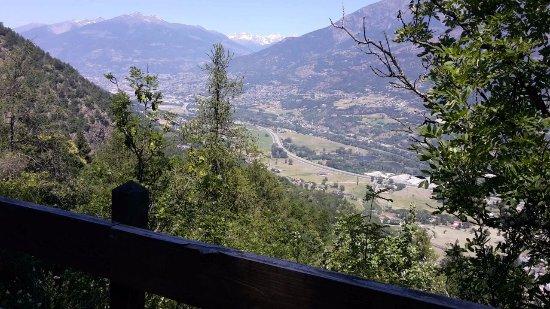 Saint-Marcel, Italia: Il panorama che si può ammirare