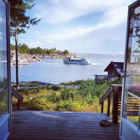 Norrtalje, สวีเดน: Morgon från Stormladan