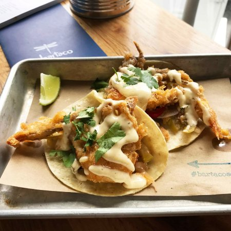 Westport, CT: Soft shell crab tacos