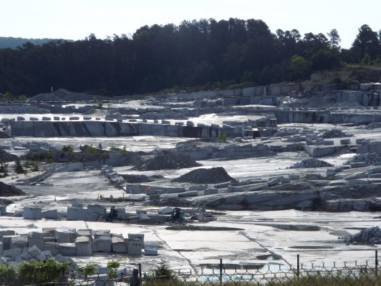 Mount Airy, NC: World's only open-air granite mine. Huge!