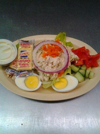 Loris, SC: Chicken Salad Plate