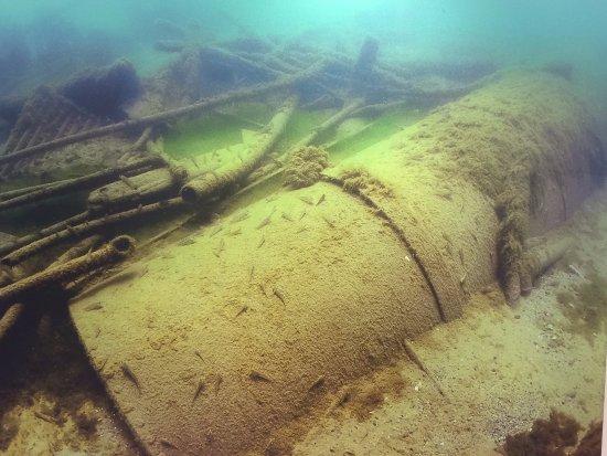 Port Washington, WI : Debris from Atlantis