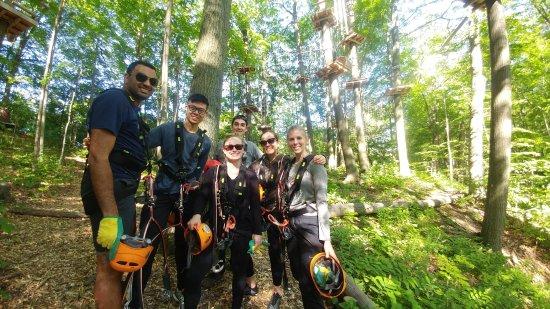 Port Dover, Canadá: Radical Lines Aerial Adventure Park