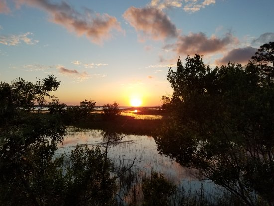 Little Talbot Island State Park: Sunset. It was devine