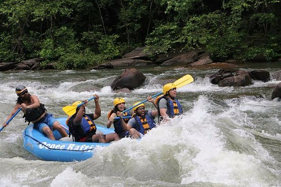 Ducktown, TN: White Water Rafting