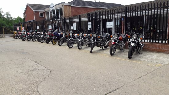 Leiston, UK: Some of the CBX 1000's that attended the 25th anniversary.