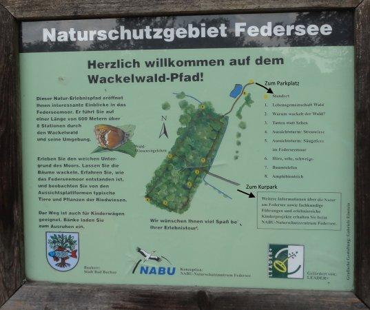 Bad Buchau, Alemania: Übersichtstafel