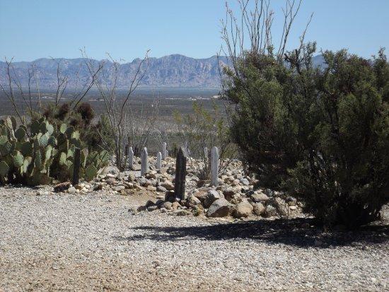 Allen Street : Boothill Graveyard & Cochise Mountains