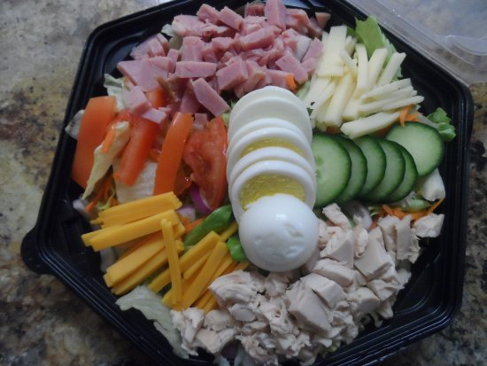 Pelican Rapids, MN: Chef Salad