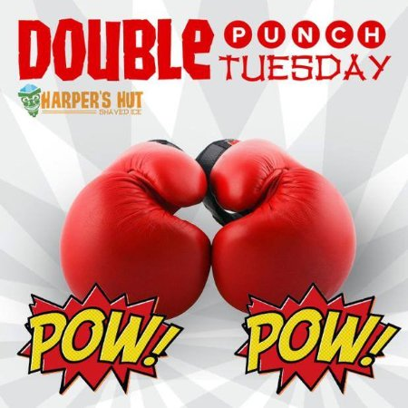 Sand Springs, OK: Double Punch Tuesday - Snow cones