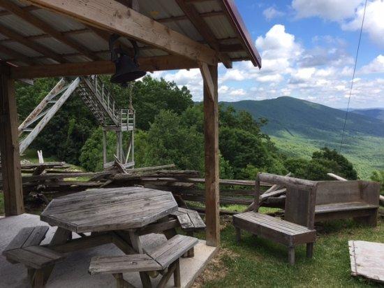 Wytheville, VA: Big Walker Lookout picnic area