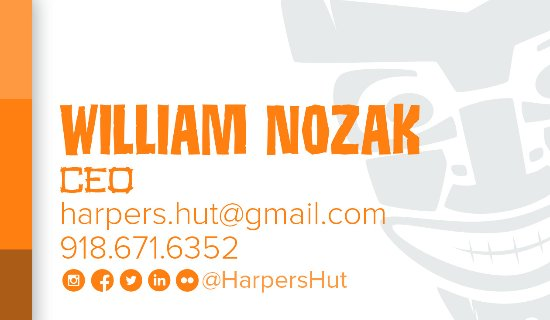 Sand Springs, OK: William Nozak Owner of Harper's Hut