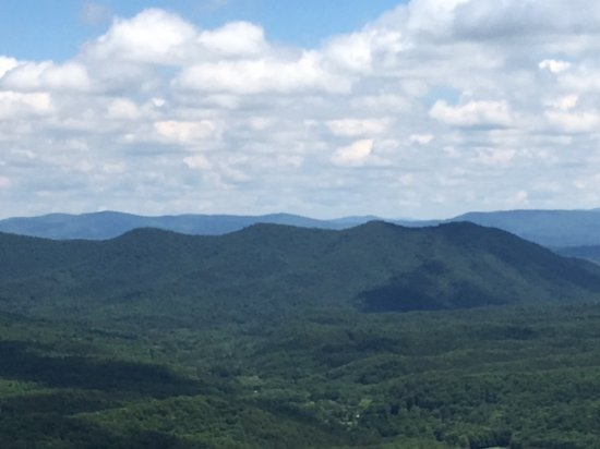 Wytheville, VA: View from Big Walker Lookout