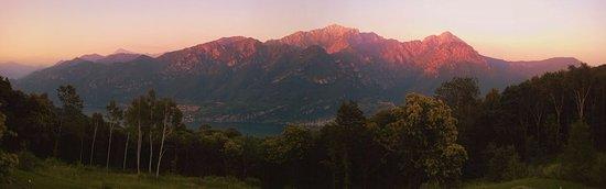 Magreglio, Ιταλία: Tramonto sulla Grigna