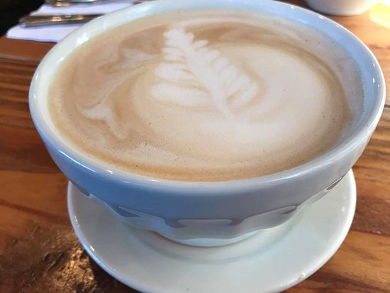 Walla Walla, WA: Delicious latte'