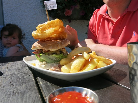 Lathom, UK: Gourmet burger