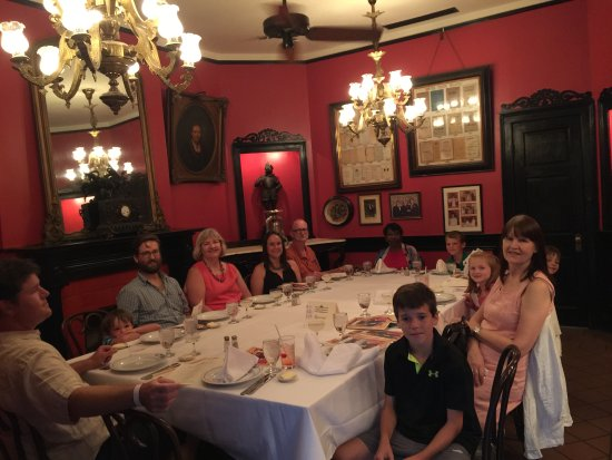 Private Dining Room For A Small Group Picture Of Antoine S Restaurant New Orleans Tripadvisor
