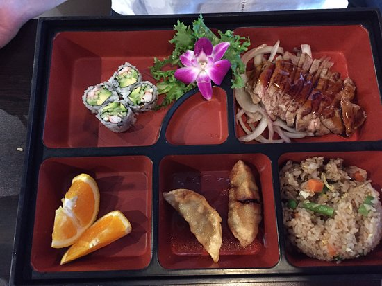 The Villages, FL: beef teriyaki bento