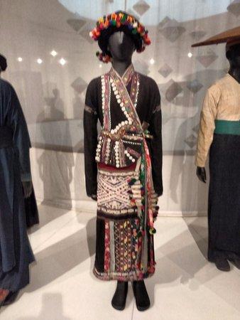 Bảo tàng Phụ nữ Việt Nam: manequim com roupa típica