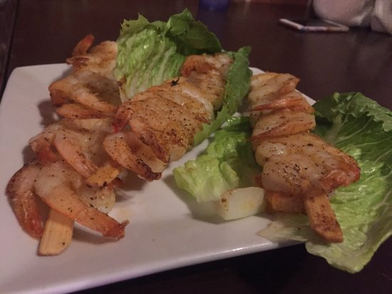 Decatur, IL: Shrimp Skewers